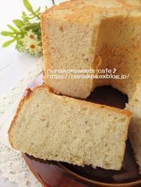 バナナシフォンケーキ&京都土産 - nanako*sweets-cafe♪