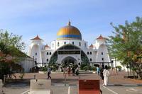 【マラッカ海峡モスク】【青雲亭】マレーシア旅行 - 2 - - うろ子とカメラ。