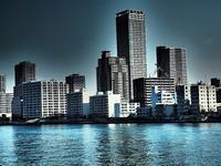 新世紀大江戸百景その63隅田川沿岸摩天楼 - 風の香に誘われて 風景のふぉと缶