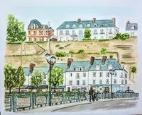 フランスの旅:ポントワーズ - オヤジの水彩画集