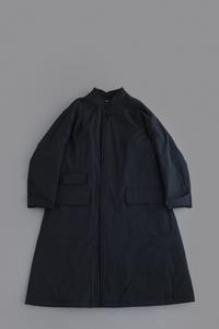 HAVERSACK Split Fiber Cloth Coat (Black) - un.regard.moderne