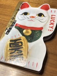 海辺の本棚『ラッキー・キャット 招き猫の本』 - 海の古書店