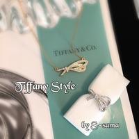 大人リボン〜Tiffany Style〜 - 神戸北区西鈴蘭台グルーデコサロン(JGA認定校)★Jewel  Leaf★