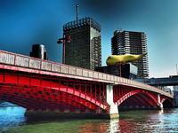 新世紀大江戸百景その63紅い吾妻橋 - 風の香に誘われて 風景のふぉと缶