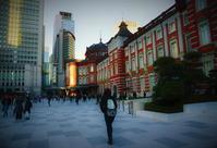街角スナップ・ 東京駅と駅前広場 - 天野主税写遊館