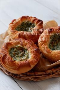 手作りリコッタチーズのデニッシュ:さらに美味しくできあがりました♪ - Le temps pur  - ル・タン・ピュール  -