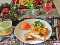 ミートパイと冬野菜のポタージュ - 美味しい贈り物