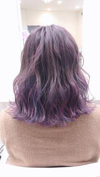 ユニコーンカラーしていただきました☆ - HAIR STUDIO BOOM'S DIARY