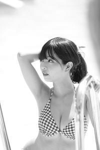 柚月彩那ちゃん5 - モノクロポートレート写真館