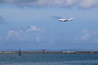 浮かぶブイ - 南の島の飛行機日記