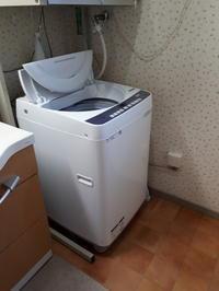 新しい洗濯機来ました~~ - 柴犬 ひろゆきと さもない毎日&週末自宅カフェ里音 (りをん) 一之江・笑い療法士のいるカフェ