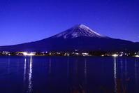 31年1月の富士(20)河口湖畔の富士 - 富士への散歩道 ~撮影記~