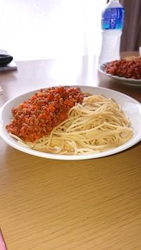 刺し子とミートスパゲッテイ - わたし。 ~手芸と日録~