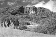 モノクロ風景妙高高原スキー場 - 光 塗人 の デジタル フォト グラフィック アート (DIGITAL PHOTOGRAPHIC ARTWORKS)