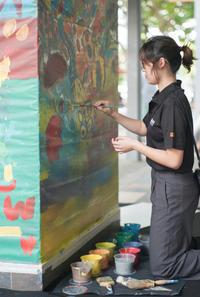 Art school - floating mind