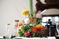 お正月の花飾り - + anything goes +