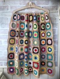 cottonのブランケットと、Woolのブランケット* - Natural style*