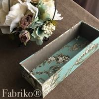 基本の箱とハギレの活用 - Fabrikoのカルトナージュ ~神戸のアトリエ~