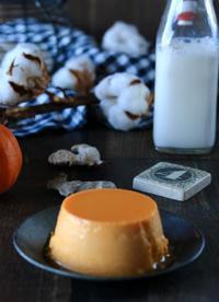 かぼちゃプリンでおやつ - ゆきなそう  猫とガーデニングの日記