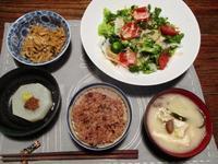 酵素玄米の晩ごはん - Bのページ