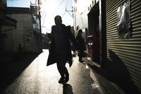 雨上がりの散歩(4cut)柿生駅前2 -     ~風に乗って~    Present