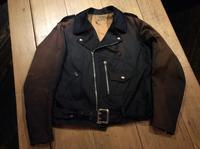 ~50's BECK satin twill motorcycle jacket - BUTTON UP clothing