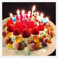 ケーキとカオナシと…。 - 『 紙とえんぴつ。』 kamacosan. 糸とビーズのアクセサリー