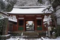 「雪の嵯峨野愛宕念仏寺から大覚寺へ」 - ほぼ京都人の密やかな眺め Excite Blog版