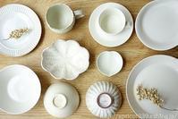 わが家の白い器と、SAKUZANの新しいお茶碗 - シンプルで心地いい暮らし