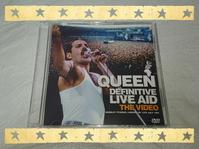 QUEEN / DEFINITIVE LIVE AID THE VIDEO - 無駄遣いな日々