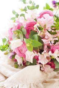 チョイ足しの効果 - お花に囲まれて