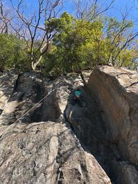 【スクール】湯河原幕岩 (1月27日) - ちゃおべん丸の徒然登攀日記