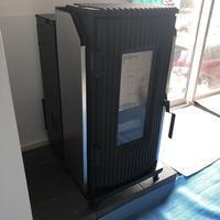 「小さなガレージハウス」ペレットストーブ設置 - 桂建設の日々ブログ