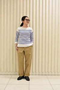 *A VONTADE::Wide Fit Chino Trousers - JUILLET