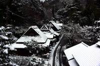 愛宕街道雪景色 - ちょっとそこまで