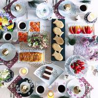 Tableに アートな花を咲かせよう - nico☆nicoな暮らし~絵付けと花とおやつ