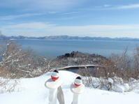 名倉山でスノーシュー - 猪苗代からのぽぽんた通信