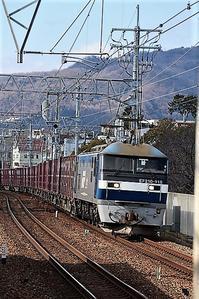 藤田八束の鉄道写真@激写!!貨物列車の躍動的活躍写真に挑戦 - 藤田八束の日記