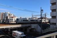 藤田八束の鉄道写真@壁画のある町・西宮市を快走する貨物列車・・・壁画の町、壁画甲子園を西宮で計画せよ - 藤田八束の日記