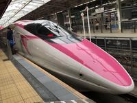 Hello Kitty Shinkansen (新大阪駅) - よく飲むオバチャン☆本日のメニュー