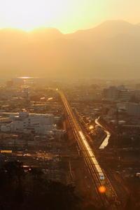 遠き山に日は落ちて① - 新幹線の写真