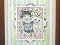 『彩猫展』出展作品紹介2 - 湘南藤沢 猫ものの店と小さなギャラリー  山猫屋