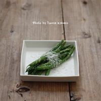 いんげんのチーズマリネ - ふみえ食堂  - a table to be full of happiness -
