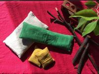 クロモジ入り米ぬかカイロ作り&冷え取り実用ワークショップ - 多摩丘陵の足もみサロン*tamayula