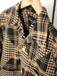 HAVERSACK ATTIRE パッチワークチェック シャツジャケット - 【Tapir Diary】神戸のセレクトショップ『タピア』のブログです