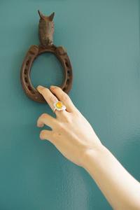 彫金Ring 「目玉焼き」カーネリアン Fried egg-Carnelian image - natural essence : EKO PROJECT