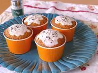 オレンジミントのカップケーキ~スパイス大使 - ~あこパン日記~さあパンを焼きましょう