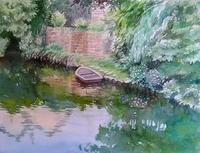 1月の課題フランス・シャルトル - まり子の水彩画
