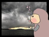 顔をうずめたくなる雲@館山 - なつお風味のポンだし♪