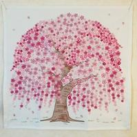 桜の刺しゅう完成です♪ - y-hygge